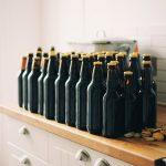 Bottles of Homebrew Beer