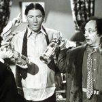 Three Stooges with Soda Siphon
