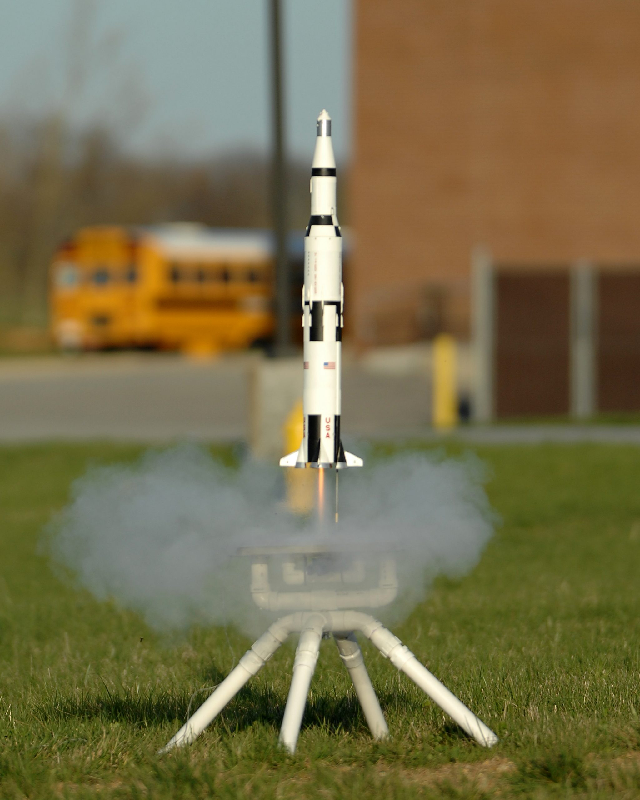 Flying Model Rocket