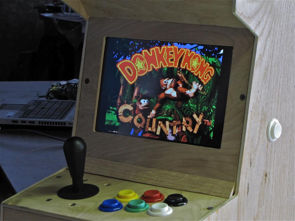DIY Arcade game